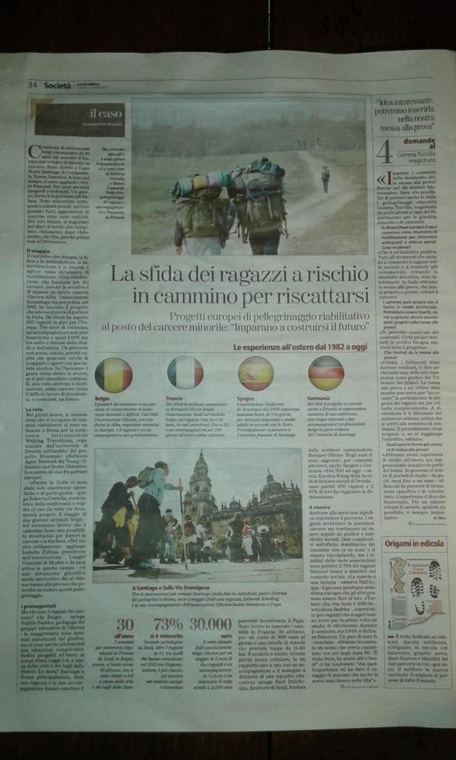 La Stampa di Torino 27 marzo 2017
